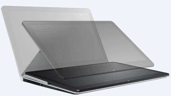 Diferentes posiciones en las que se podrá colocar la tableta