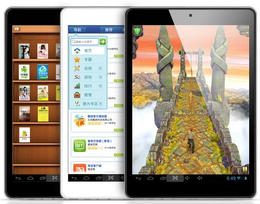 Con la Chuwi V88 puedes jugar a juegos, leer ebooks o navegar por internet