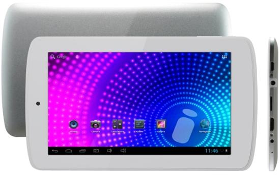 La tableta i-Joy Cream x2 tiene una capacidad de almacenamiento de 16 GB