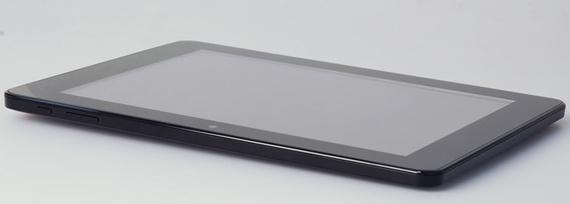 Pantalla de de 9.7 pulgadas con una resolución de 1024 por 768 píxeles