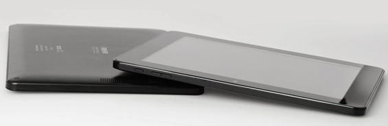 Las dimensiones de la tableta son de 19 por 24.5 centímetros, con un espesor de 1.2 centímetros