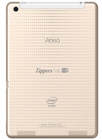 La Vexia Zippers Tab 7,8 tiene una cámara trasera de 5 Megapíxeles