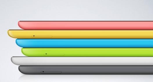 La tableta está disponible en una gran variedad de colores