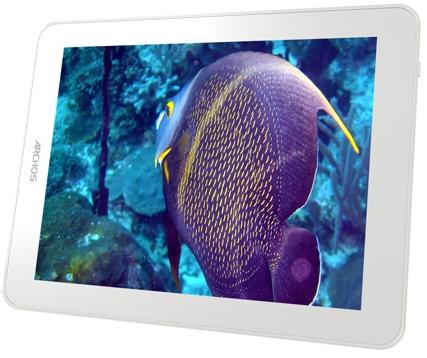 La resolución de la tablet de Archos es de 1027x768 píxeles