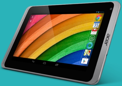 La tableta tiene una pantalla de 7 pulgadas