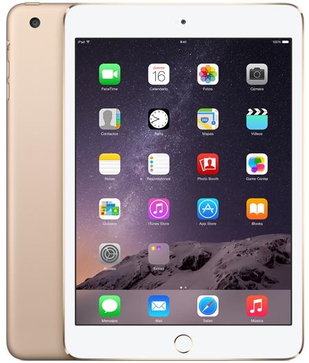 El color dorado ha sido incorporado a la tercera generación del iPad Mini