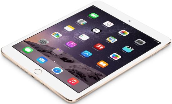 La tableta incorpora el sistema operativo iOS 8