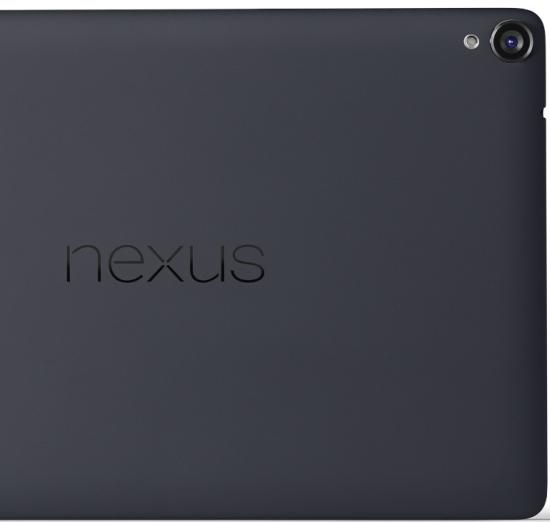 La Nexus 9 integra una cámara trasera de 8 MP